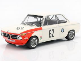 BMW 2002 tiK #62 Class Winner Guards International Brands Hatch 1969 1:18 Minichamps