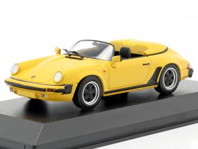 Porsche 911 Speedster year 1988 yellow 1:43 Minichamps