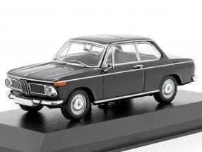 BMW 1600 year 1968 black 1:43 Minichamps
