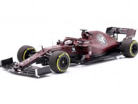 Kimi Räikkönen Alfa Romeo Racing C38 Fiorano Shakedown F1 2019 1:18 Minichamps