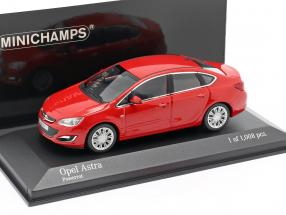 Opel Astra 4-door Year 2012 red 1:43 Minichamps