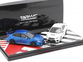 2-Car Set Subaru Impreza WRX STI S207 / S208 Tokyo Auto Salon 2019 1:64 Tarmac Works
