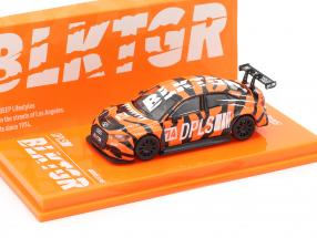 Audi RS3 LMS #74 DPLS Special Edition orange / black 1:64 Tarmac Works