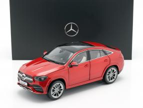 Mercedes-Benz GLE Coupe (C167) designo hyacinth red metallic 1:18 iScale