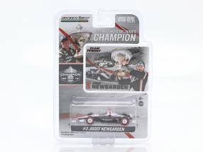 Josef Newgarden Chevrolet #2 champion Indycar Series 2019 1:64 Greenlight