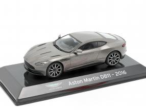 Aston Martin DB11 year 2016 grey metallic 1:43 Altaya