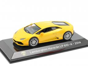 Lamborghini Huracan LP610-4 year 2014 yellow metallic 1:43 Altaya