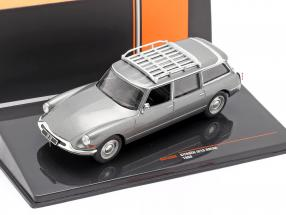 Citroen ID19 Break year 1960 grey metallic 1:43 Ixo