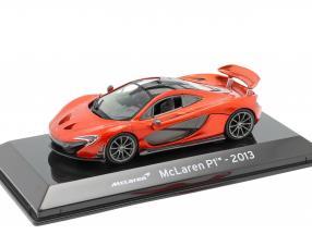 McLaren P1 year 2013 copper metallic 1:43 Altaya