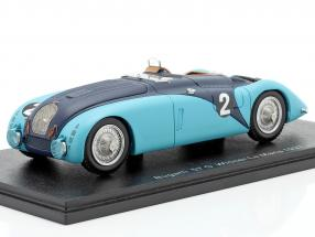 Bugatti 57 G #2 Winner 24h LeMans 1937 Wimille, Benoist 1:43 Spark