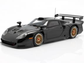 Porsche 911 GT1 Plain Body Version Year 1997 black 1:18 AUTOart