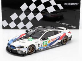 BMW M8 GTE #82 2nd LMGTE Pro 6h Fuji 2018 Blomqvist, da Costa 1:18 Minichamps