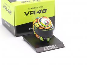 Valentino Rossi MotoGP Qatar 2011 AGV helmet 1:10 Minichamps