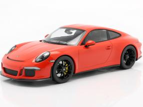 Porsche 911 (991) R Baujahr 2016 lava orange 1:12 Minichamps