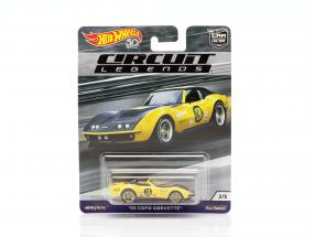Copo Corvette #3 1969 yellow / black 1:64 HotWheels
