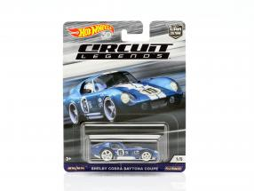 Shelby Cobra Daytona Coupe #15 blue / white 1:64 HotWheels