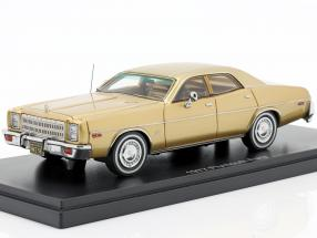 Plymouth Fury Year 1977 gold 1:43 Neo