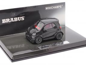 Smart Brabus Ultimate 125 year 2017 black 1:43 Minichamps