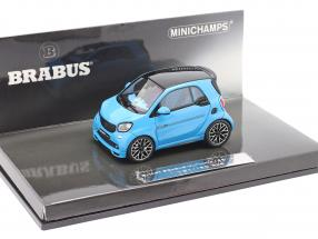 Smart Brabus Ultimate 125 Construction year 2017 blue 1:43 Minichamps