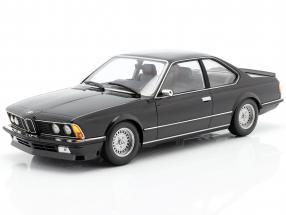 BMW 635 CSi (E24) year 1982 black metallic 1:18 Minichamps