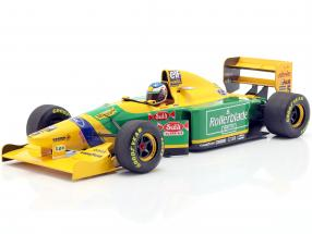 Michael Schumacher Benetton B193B #5 2nd Canadian GP F1 1993 1:18 Minichamps