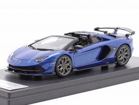 Lamborghini Aventador SVJ Construction year 2019 caelum blue metallic 1:43 LookSmart