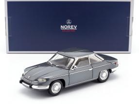 Panhard 24 CT year 1964 silver gray metallic 1:18 Norev
