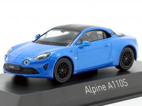Alpine A110S year 2019 alpine blue 1:43 Norev