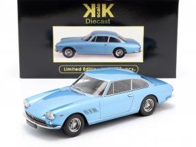 Ferrari 330 GT 2+2 year 1964 light blue metallic 1:18 KK-Scale