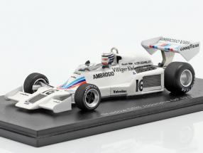 Riccardo Patrese Shadow DN8 #16 Japanese GP formula 1 1977 1:43 Spark