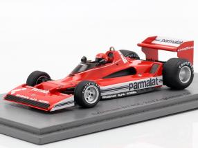 Niki Lauda Brabham BT45C #1 2nd Argentinian GP formula 1 1978 1:43 Spark