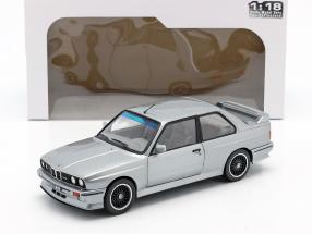 BMW M3 (E30) year 1990 silver metallic 1:18 Solido