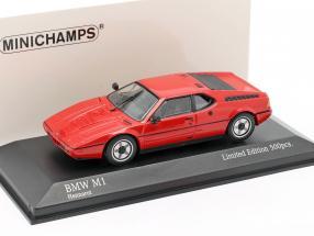 BMW M1 (E26) year 1980 henna red 1:43 Minichamps