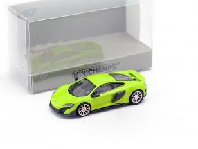 McLaren 675LT Coupe napier green 1:87 Minichamps