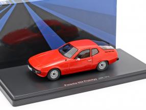 Porsche 924 prototype year 1974 red 1:43 AutoCult