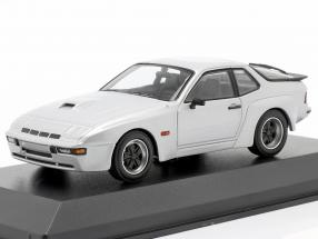 Porsche 924 GT year 1981 silver 1:43 Minichamps