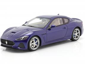 Maserati Gran Turismo MC year 2018 ink blue 1:18 TrueScale