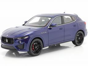 Maserati Levante Trofeo year 2019 blue 1:18 TrueScale