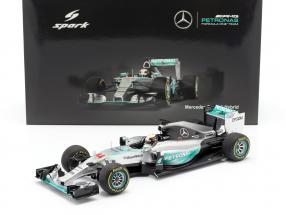 L. Hamilton Mercedes F1 W06 Hybrid #44 World Champion Australia GP F1 2015 1:18 Spark