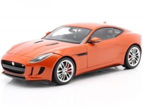 Jaguar F-Type R Coupe Year 2015 orange metallic 1:18 AUTOart