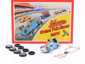 Grand Prix Racer #6 Construction Kit gulf blue / orange Schuco