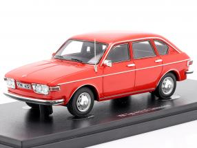 Volkswagen VW Type 412 LE limousine Construction year 1972 red 1:43 AutoCult