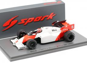Niki Lauda McLaren MP4/2 #8 winner British GP World Champion F1 1984 1:43 Spark