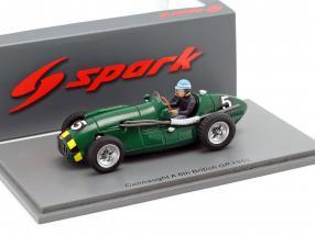 Eric Thompson Connaught A #5 5th British GP formula 1 1952 1:43 Spark