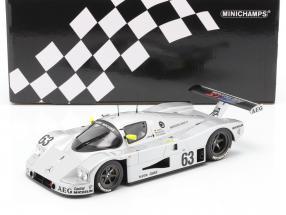 Sauber-Mercedes C9 #63 Winner 24h LeMans 1989 Mass, Dickens, Reuter 1:18 Minichamps