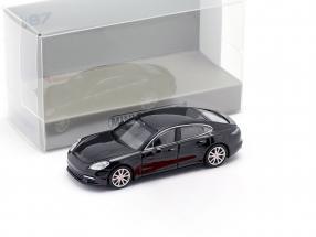 Porsche Panamera 4S year 2015 black 1:87 Minichamps