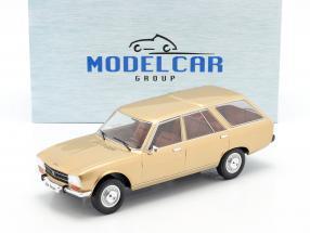 Peugeot 504 Break year 1976 gold 1:18 Model Car Group