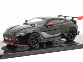 Aston Martin Vantage GT12 year 2015 black / orange 1:43 Ixo