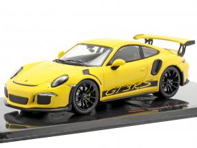 Porsche 911 (991) GT3 RS year 2017 yellow 1:43 Ixo