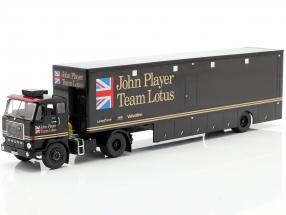 Volvo F88 Race Car Transporter John Player Team Lotus black 1:43 Ixo